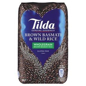 Tilda wholegrain basmati & wild rice