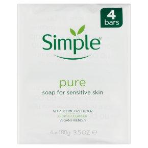Simple soap - 4 bars