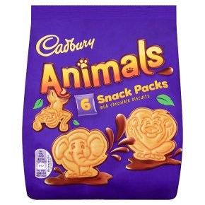 Cadbury Chocolate Mini Animals Biscuits