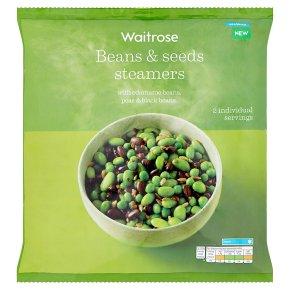Waitrose Beans & Seeds Steamers