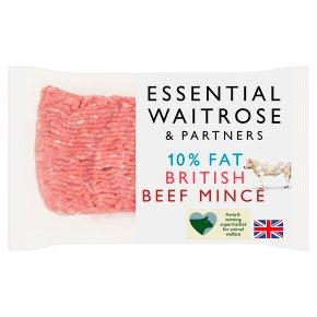 Essential British Beef Mince 10% Fat