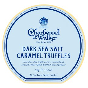 CetW Dark Sea Salt Truffles