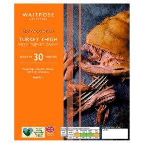 Waitrose Slow Cooked Turkey With Gravy