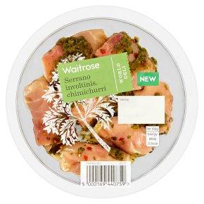 Waitrose World Deli Serrano Involtinis, Chimichurri