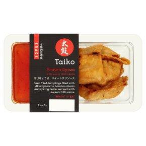 Taiko Prawn Gyoza with Sweet Chilli Sauce