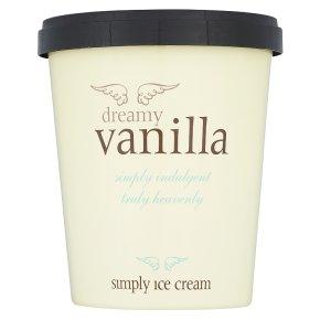 Simply vanilla ice cream