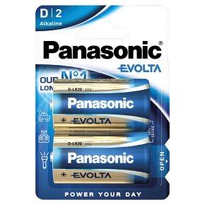Panasonic evolta alkaline D 1.5V