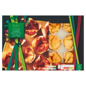 Waitrose Christmas 12 Barber's Cheddar & Onion Muffins