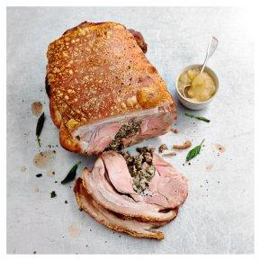 No.1 Free Range Pork Hog Roast with Sage & Onion Stuffing & Apple Sauce