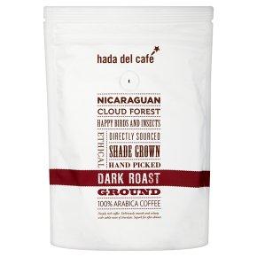 Hada Del Café ground dark roast beans