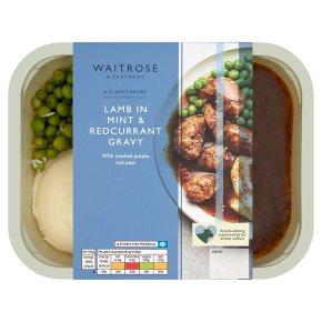 Waitrose Classics Lamb with Mint & Redcurrant