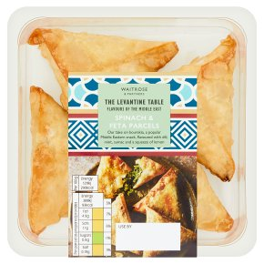 Waitrose World Deli Spinach and Feta Parcels