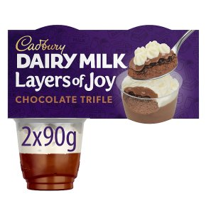 Cadbury Layers of Joy Chocolate Trifle