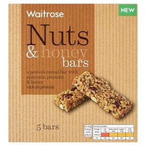 Waitrose Nuts & Honey Cereal Bar