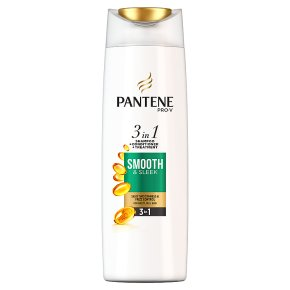 Pantene Pro V Smooth & Sleek Normal-Thick Hair 2 in 1 Shampoo