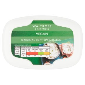 Waitrose Vegan Original Soft Spreadable
