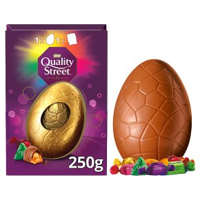 Nestle quality street chocolate egg