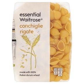 essential Waitrose conchiglie rigate