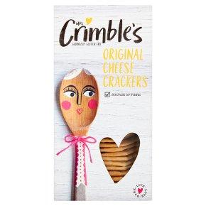 Mrs Crimble's cheese crackers