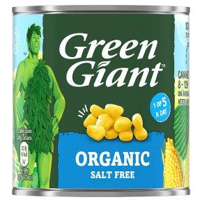 Green Giant Organic Sweetcorn