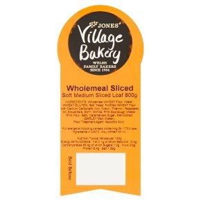 Village Bakery 100% wholemeal sliced