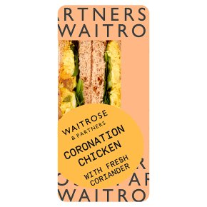 Waitrose Coronation Chicken Sandwich