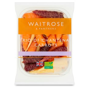 Waitrose Chantenay Carrots Trio