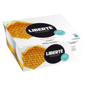Liberté Greek Style 0% Fat Honey Yogurt