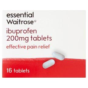 essential Waitrose Ibuprofen Tablets