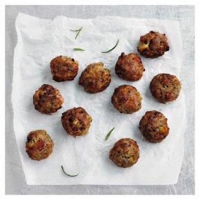 Chestnut & Bacon Stuffing Balls