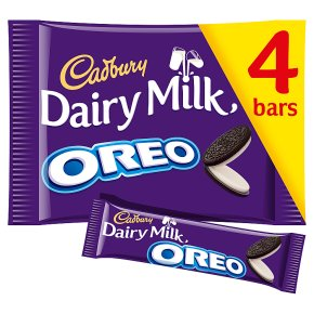 Cadbury Dairy Milk Oreo Chocolate 4 pack