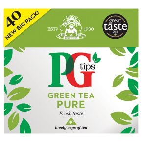 PG Tips Green Tea Pure 40s