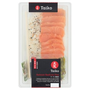 Taiko Salmon Sashimi Don