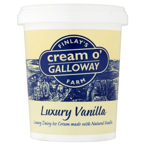 Cream o'Galloway luxury vanilla ice cream