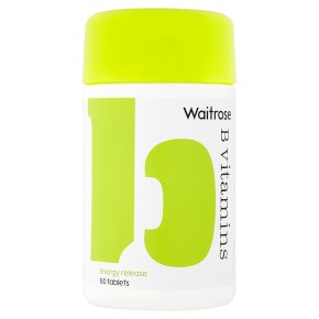 Waitrose B Vitamins Tablets