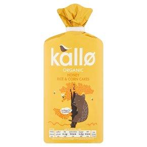 Kallo Honey Rice & Corn Cakes