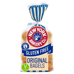 New York Bakery Co. Gluten Free Original Bagels