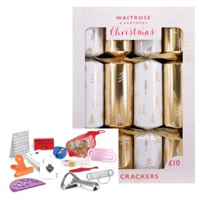 Waitrose Gold Tree Crackers