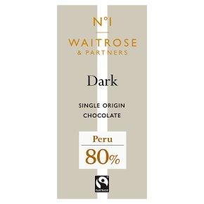 No.1 Dark Chocolate 80%