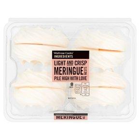 Waitrose Cooks' Ingredients Meringue Nests