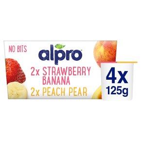 Alpro Soya no bits plant-based alternative to yogurt