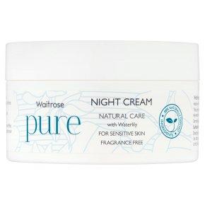 Waitrose Pure Natural Night Cream