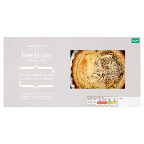 Waitrose Freefrom Caramelised Onion & Emmental Tarts
