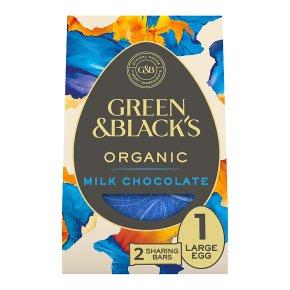 Green & Black's Organic Milk Large Chocolate Easter Egg