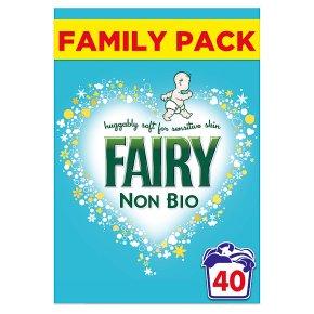 Fairy Non-Bio Washing Powder 40 Washes