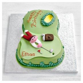 Golf Celebration Cake