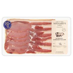 Maynards oak smoked dry cured back bacon