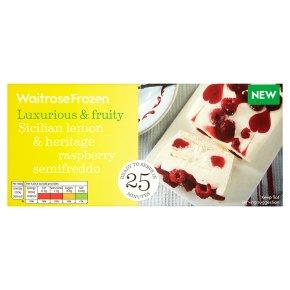 Waitrose Lemon & Raspberry Semifreddo