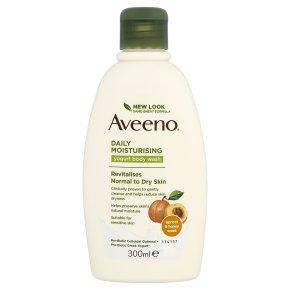 Aveeno Apricot & Honey Body Wash