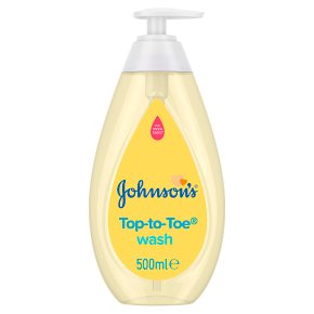 Johnson's Top-to-Toe Baby Bath